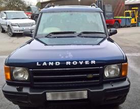 Land Rover Discovery 2 TD5 ES Diesel Auto Blue '02 12 months MOT Alko caravan tow bar EXCELLENT