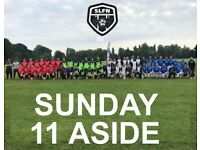 Looking for extra players to join our football club, PLAY 11 ASIDE SOCCER LONDON