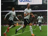 Harry Kane and Dele Ali hand signed 10x8 photo with Coa