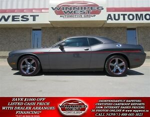 2014 Dodge Challenger R/T REDLINE, 5.7L HEMI 6 SPD,LEATHER,ROOF,