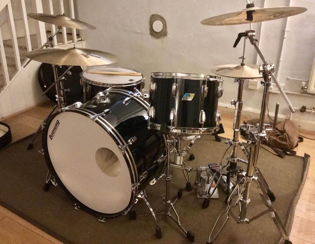 Ludwig Drum Kit Bonham Sizes 26 14 18 Keller Shells