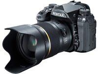 BRAND NEW - Pentax K-1 MK II DSLR + Pentax HD -D FA 50mm Lense