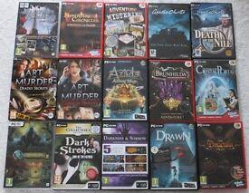 A Job Lot Of Hidden Object Adventure Games
