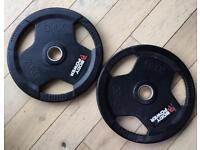 2 x 20 KG weight plates