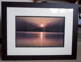 "Large Picture ""Distant Sunset"""