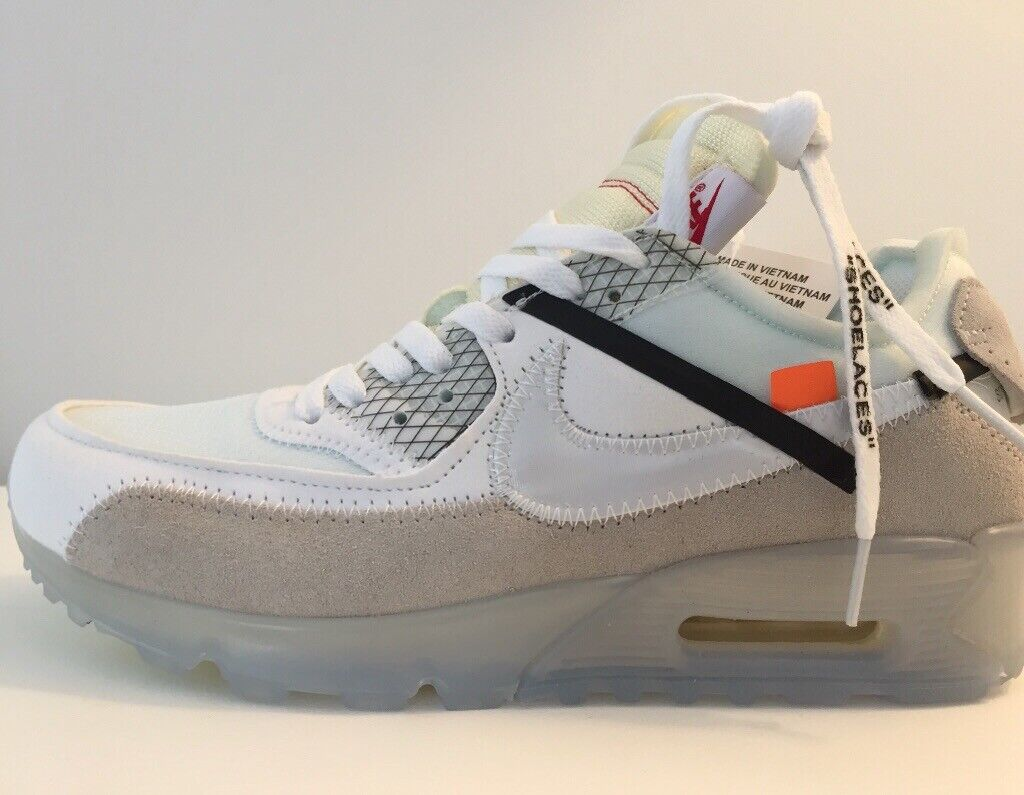 Nike air max 90 off white size 8   in Corby, Northamptonshire   Gumtree