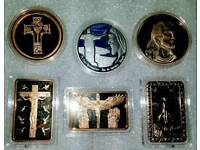 SUPERB CHRIST COIN SET. . CAN POST. 🎅🎄🎁