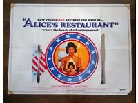 alice's restaurant ' origin cinema poster