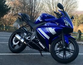 Yamaha YZF R125 2011 Blue Mint