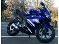 Yamaha YZF R125 2011 Blue Mint