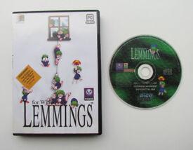 Lemmings for Windows: Lemmings / Oh No! More Lemmings, PC game, 1 CD, Psygnosis
