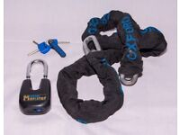 Oxford monster chain strong 1.5m and padlock