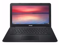 "ASUS C300 13.3"" Chromebook - Black laptop"