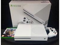 Xbox One S + Game - STILL HAS WARRANTY