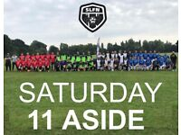 Looking for a few more players to join our 11 aside football team . FIND FOOTBALL FIND SOCCER