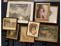 Picture Frames x8