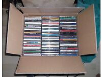 BOX OF CDS. VARIOUS ARTISTS / GENRES.