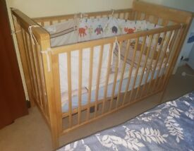 Mamas and Papas Baby Cot for sale