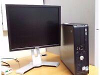 Dell Optiplex 755 small factor desktop + Win 10 Pro + Office2010 + Dell Monitor