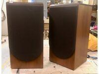 Vintage B&W DM22 Stand mount Speakers Bowers & Wilkins