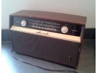 Vintage Bush VHF 81 Radio