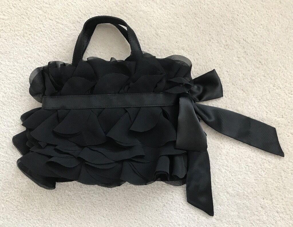 Coast black evening bag