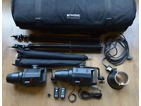 Bowens Gemini 400 Studio Lighting Kit £340 ono