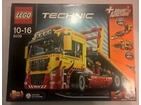 Lego Technic 8109 Flatbed Recovery Truck Brand New Sealed Retired Collectors