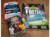 3 Football books