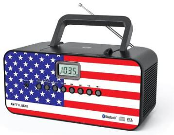 Muse M-22 US radio-cd-speler met bluetooth (Gratis