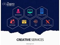 Website Design and Development, E Commerce , Mobile Application, Branding and SEO