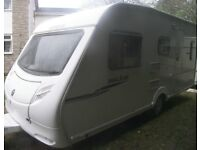 SPRITE MAJOR 5 BERTH DOUBLE END BEDS 2007 MOTOR MOVER SUPERB CONDITION