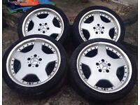 "4 x 18"" alloys - Replicas for Mercedes"