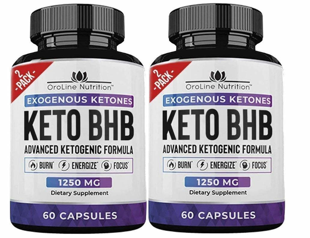 Keto Diet -2 Pack de  píldoras de pérdida de peso del tanque de tiburón Quemador