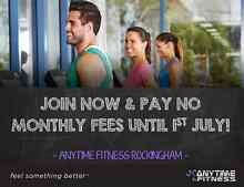 Join in May and pay no monthly fee till 1st of July Rockingham Rockingham Area Preview