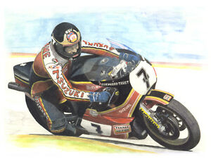 BARRY  SHEENE - Suzuki  - Ltd. Edition Print