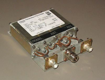Celwave Uhf Duplexer 840-960 Mhz 4-cavity Tuned To 855.5931.5