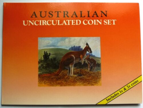 1979-1995 AUSTRALIA - COMPLETE DECIMAL BU SET (8) - OFFICIAL ISSUE - RAM BOOKLET