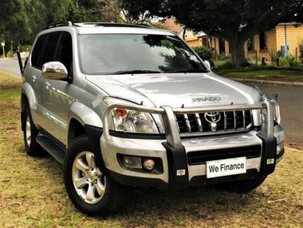 2007 Toyota Landcruiser Prado Grande  4x4 Turbo Diesel  8 SEATS Welshpool Canning Area Preview