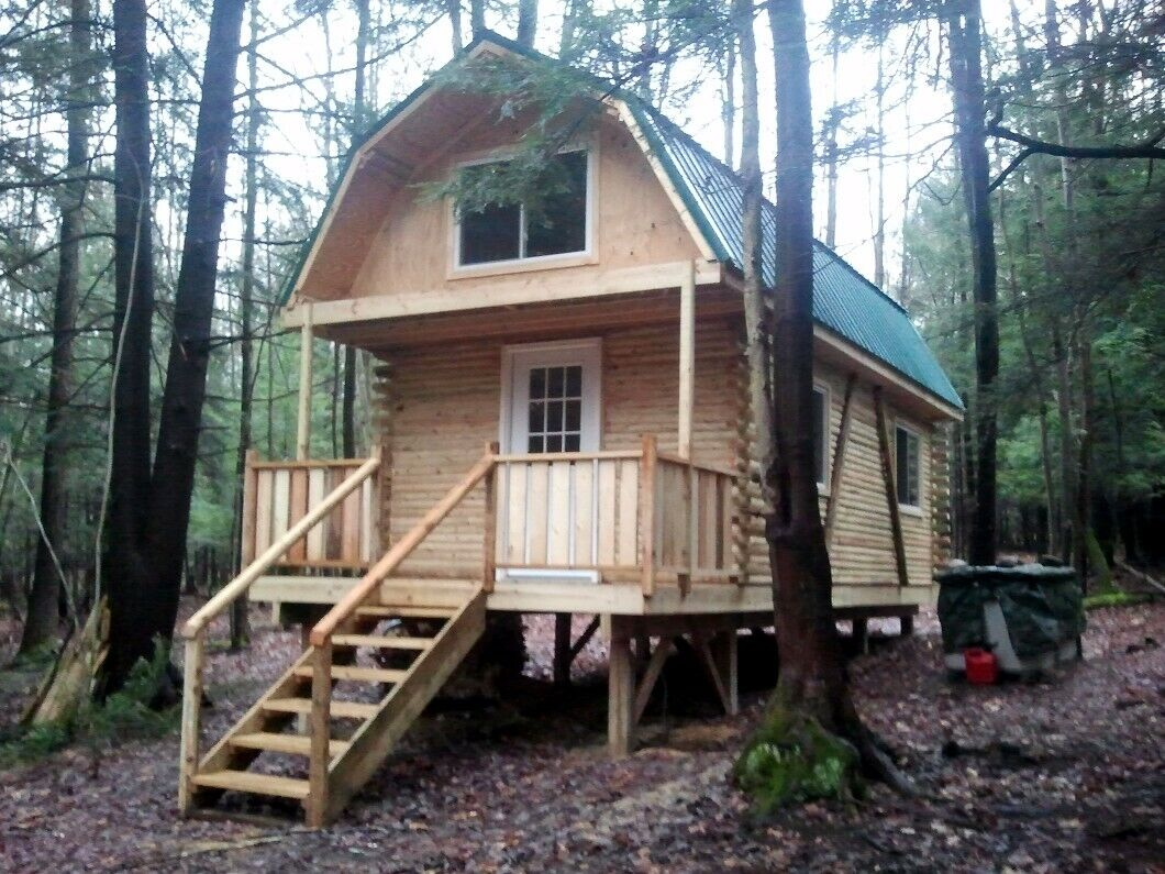 5 Acre NY Land 704 SF. Log Cabin Lot 5 FINANCING NO RESERVE PA Escape The VIRUS - $400.00