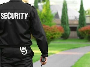 Gardien de sécurité / Security Guard