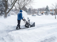 ** Residential snow removal **