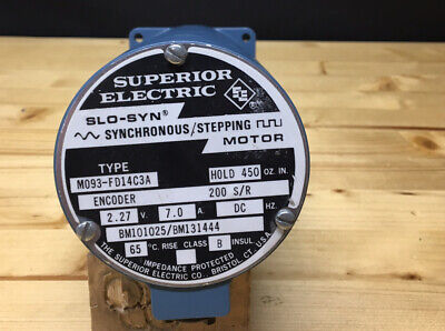 Superior Electric Slo-syn Synchronous Stepping Motor M093-fd14c3a