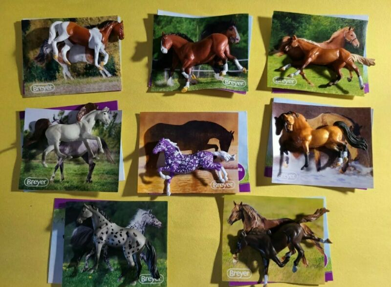 Breyer Mini Whinnies Horse Series 3 with Violet Chase piece