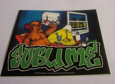 SUBLIME STICKER NEW 1998 VINTAGE OOP RARE COLLECTIBLE
