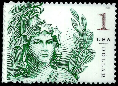 10 STATUE OF FREEDOM $1 STAMPS: United States D.C. Capitol Dome, 1923 Engraving