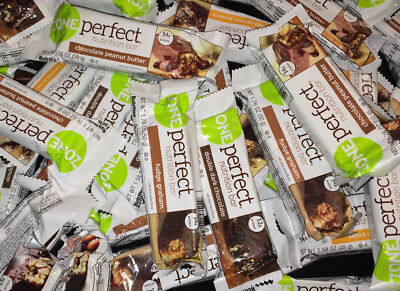 56 Assorted Flavor  - ZONE PERFECT NUTRITION - 10-14g PROTEIN BARS