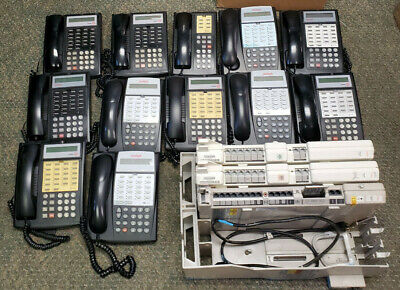 Avaya Partner Acs Phone System With 12 Avaya Phones