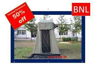 PREMIUM Roof Top Tent for 4WD: (RRP: $1599) WAS $799 NOW $699