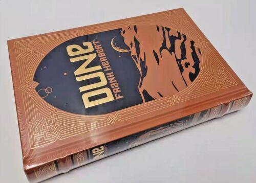 DUNE by Frank Herbert ~ LEATHER BOUND~ BRAND NEW~ COLLECTIBLE ~ SEALED~